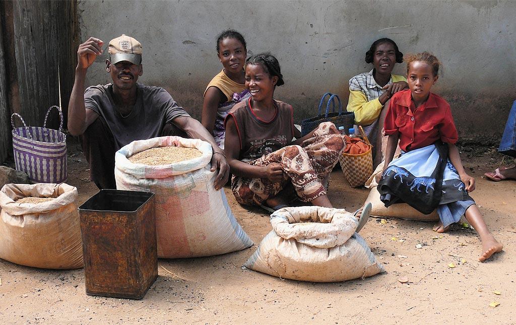 Рынок на Мадагаскаре