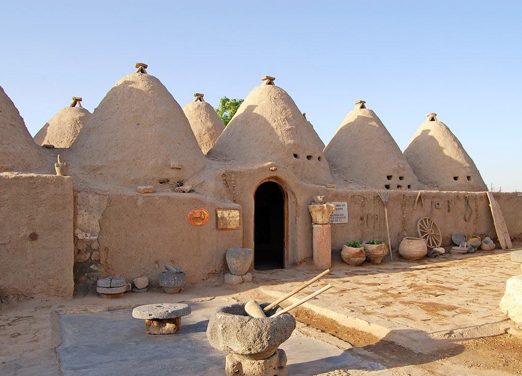 Дома в Харранской долине
