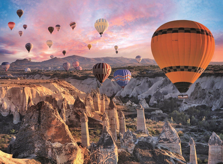 Полет на воздушных шарах, Каппадокия