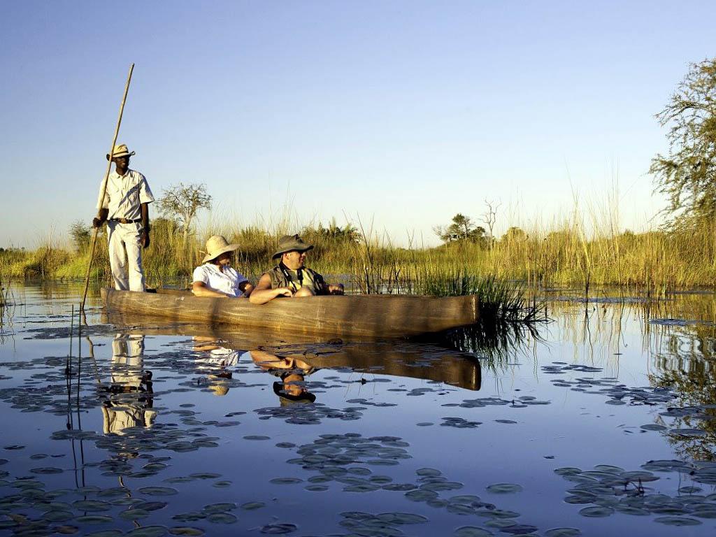 Круиз по дельте реке Окаванго