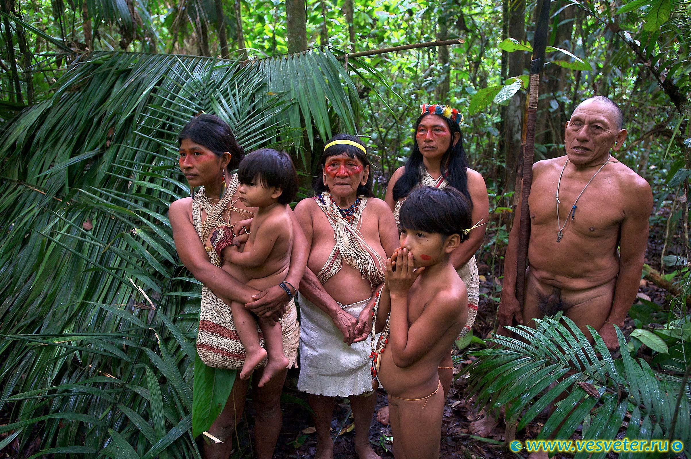 Порно, фото голые племена индейцев