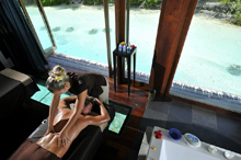 Отель Intercontinental Resort & Talasso Spa Bora Bora 5* Luxe