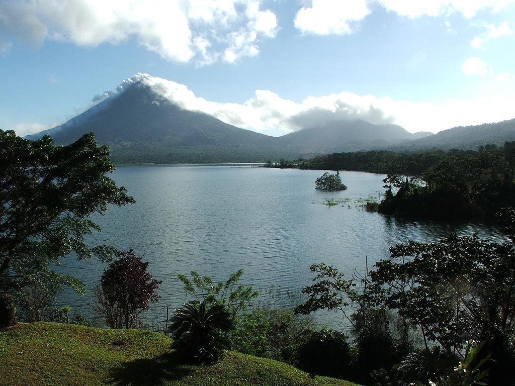 Коста-Рика. Вулкан