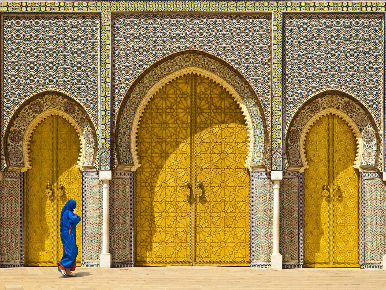 Золотые ворота Королевского дворца