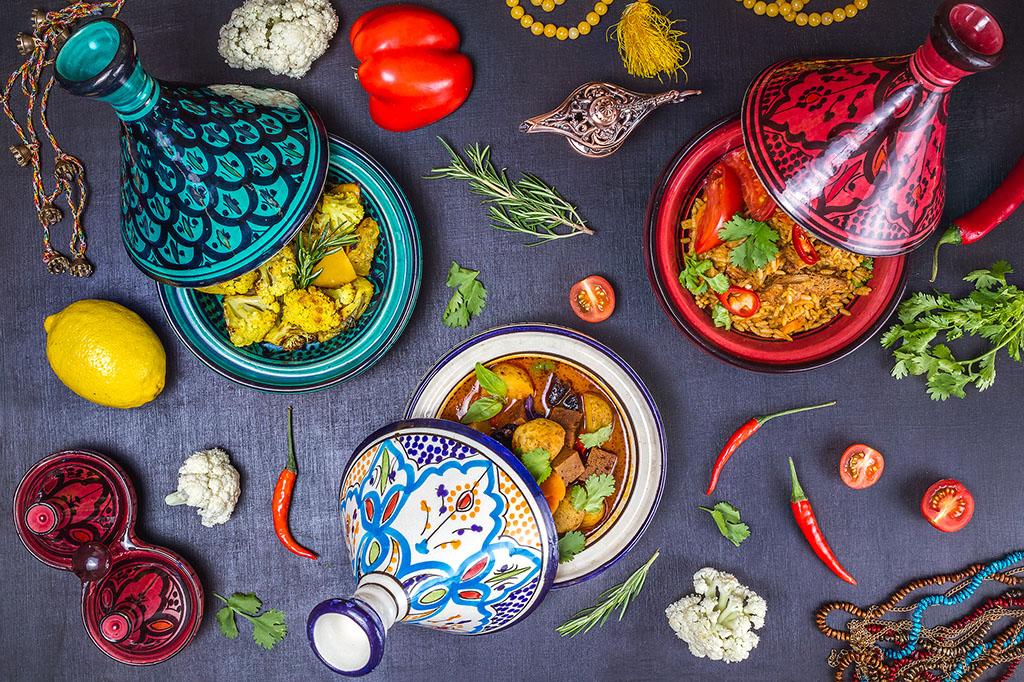 Марокканский ужин