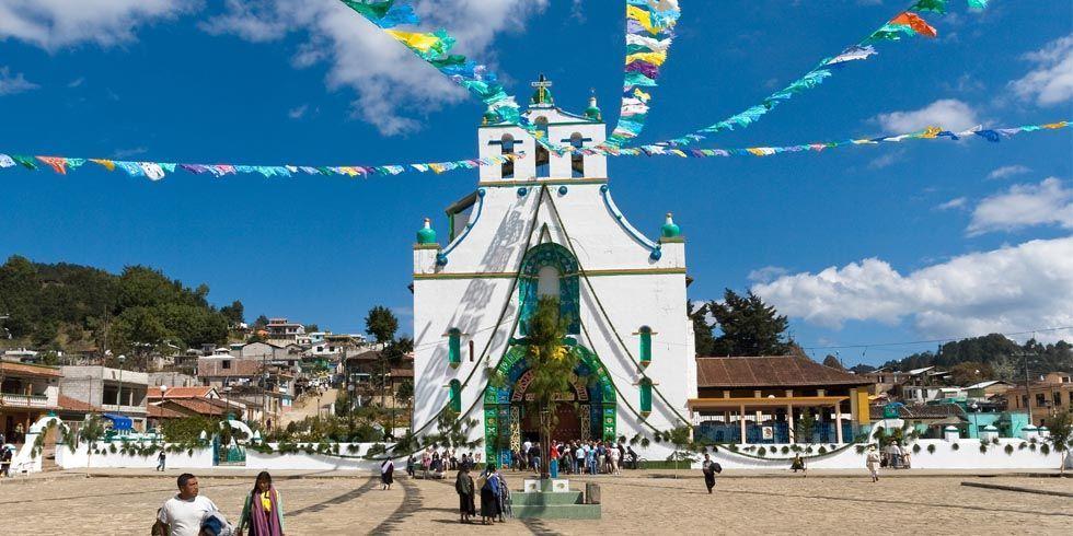 Церковь в Сан-Хуан-Чамула