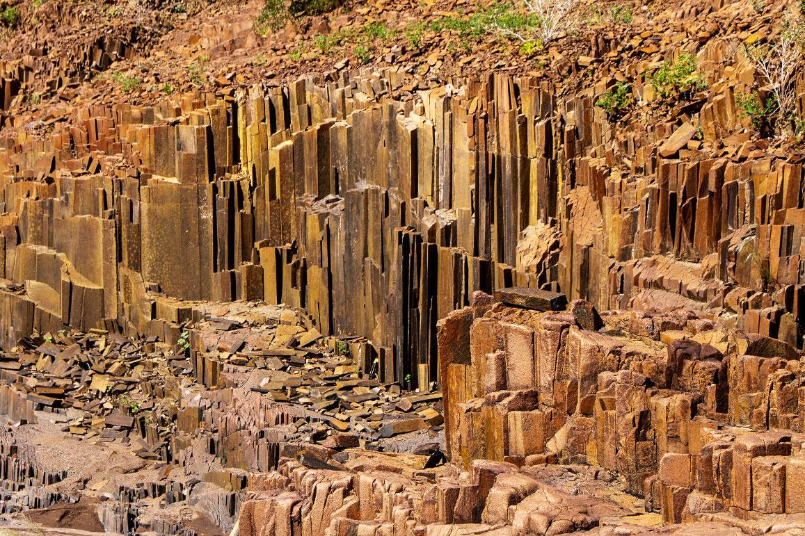 Органные трубы, Намибия