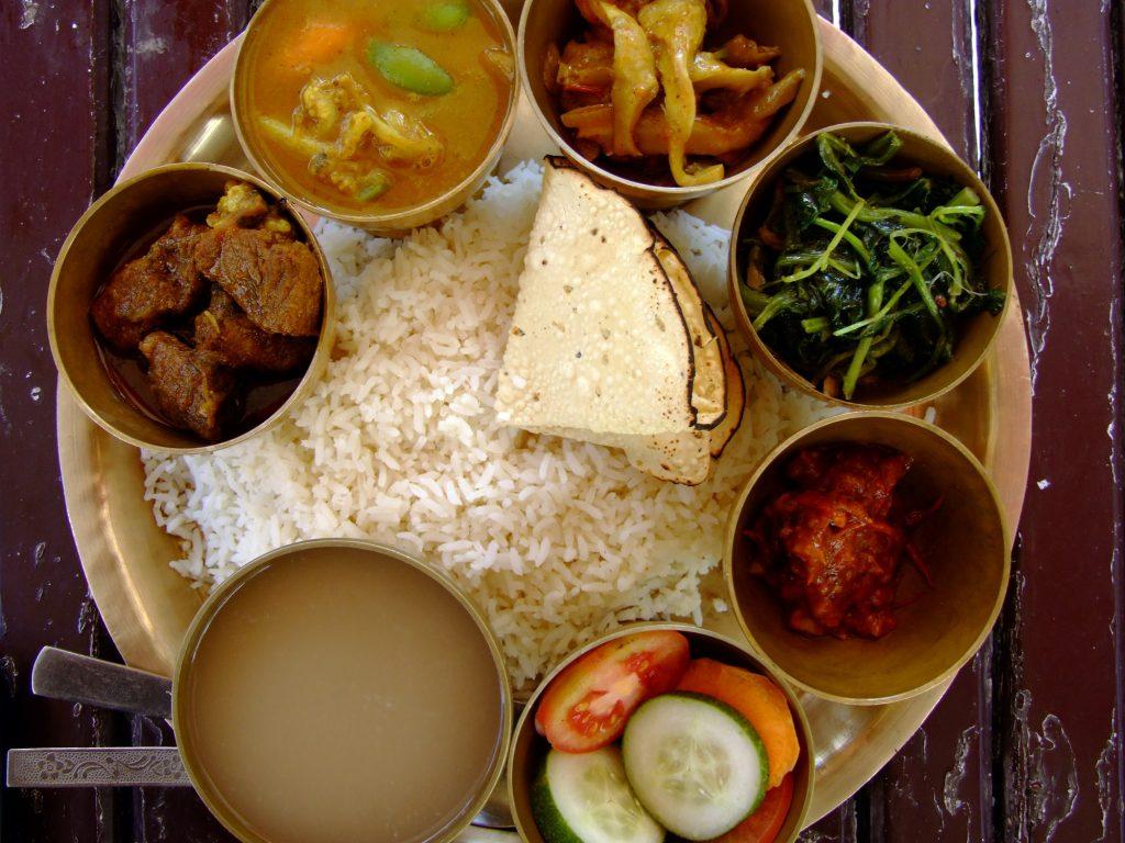 Непальское блюдо Дал Бат
