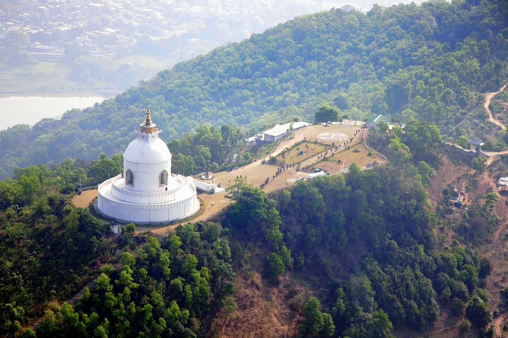 Ступа мира в Непале