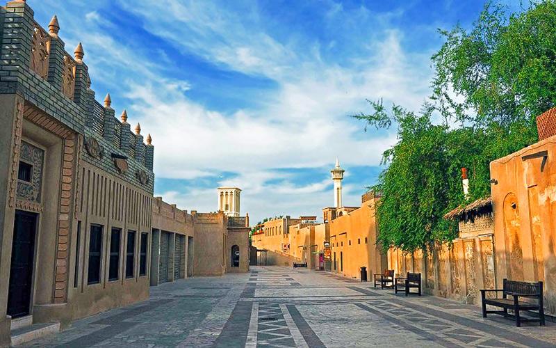 Историческая часть Дубай