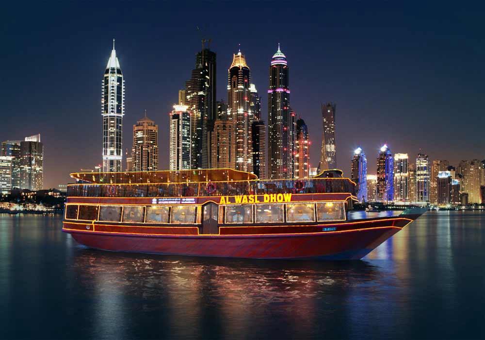 Круиз с ужином в Дубай Марине