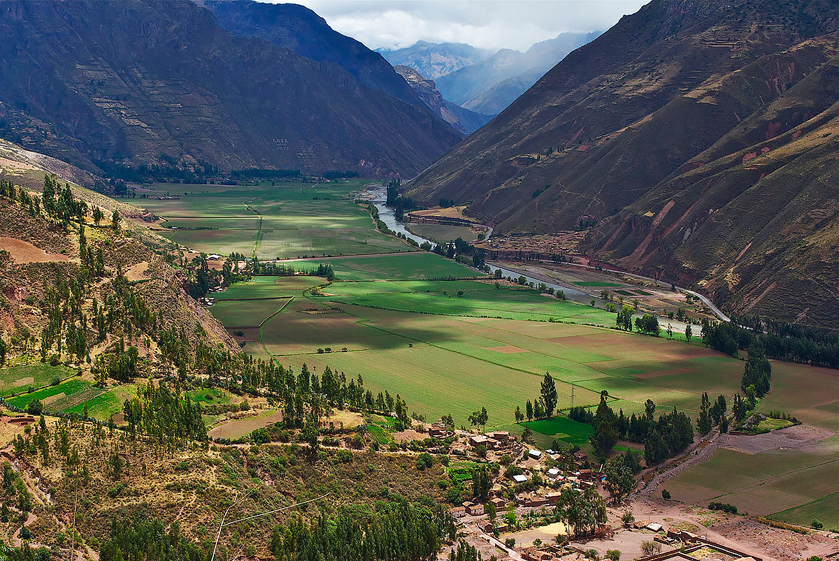 foto dolina inkov