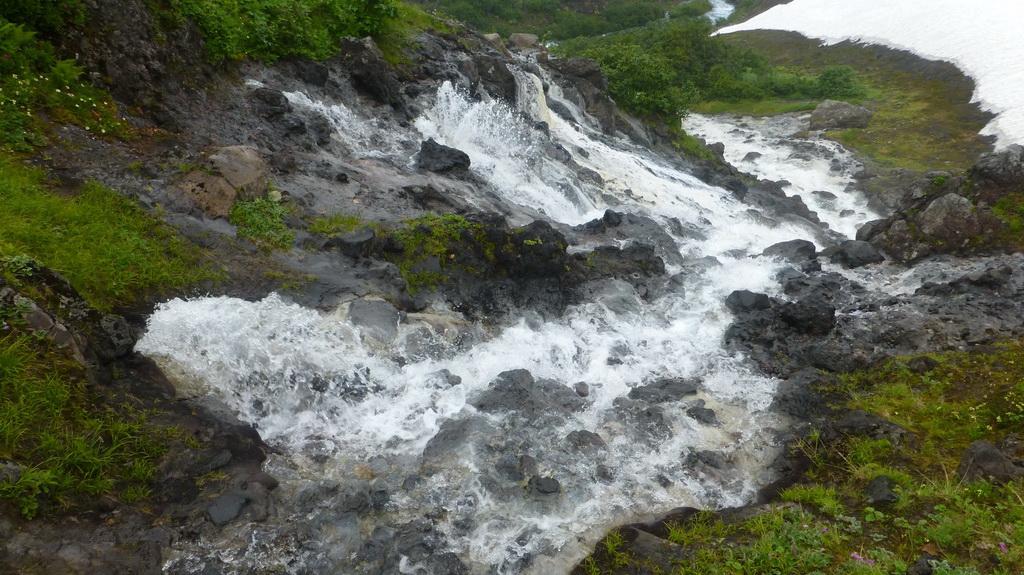 Минеральные источники Белые водопады