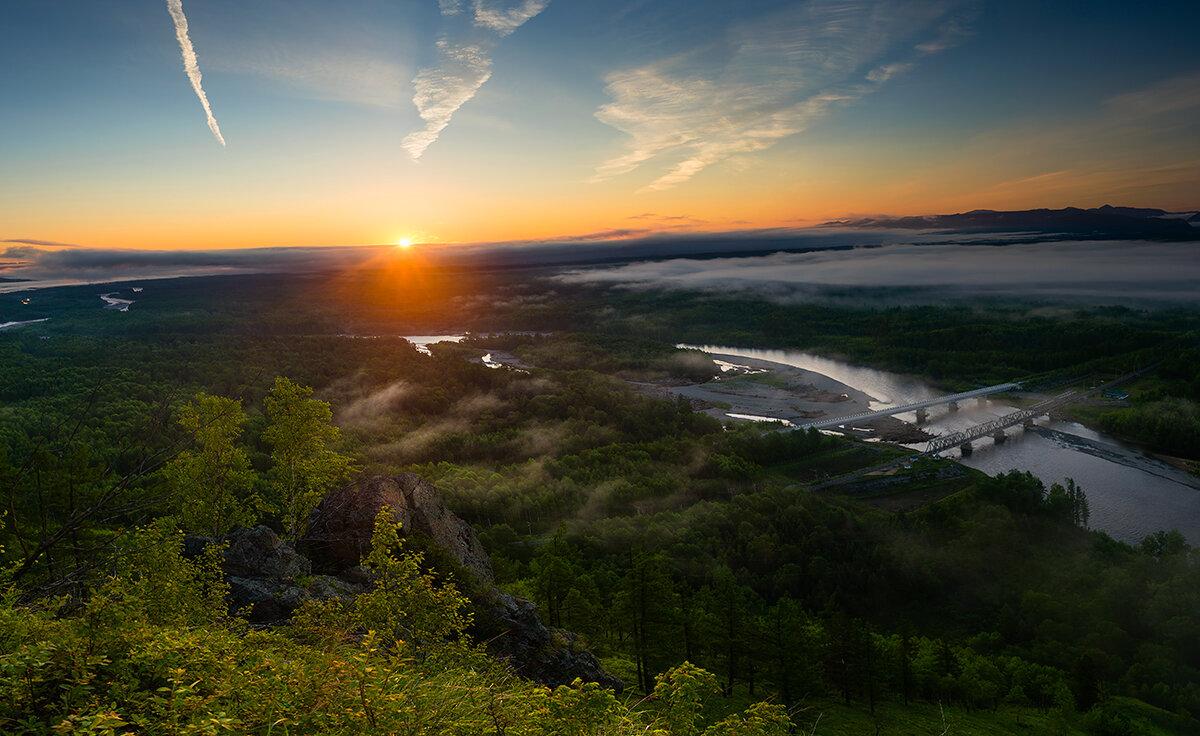 Хабаровский край, река Амгунь