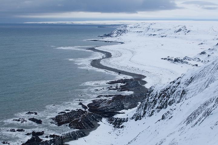 Зимний остров Рыбачий
