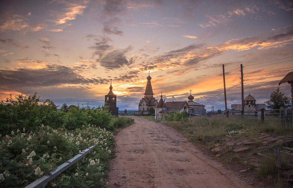 Село Варзуга. Кольский полуостров