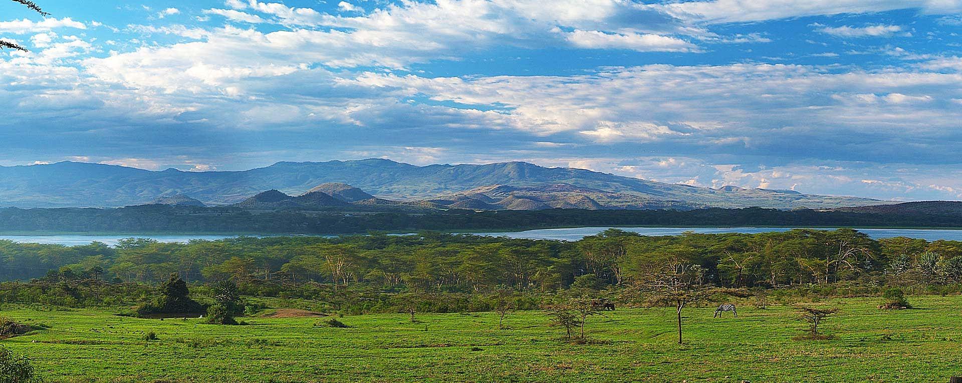 Озеро Найваша. Панорама