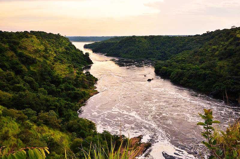 Река Нил. Уганда
