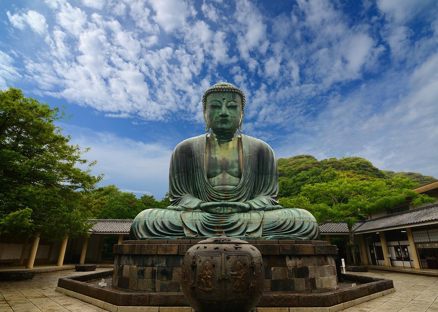 Будда. Храм Котоку-ин