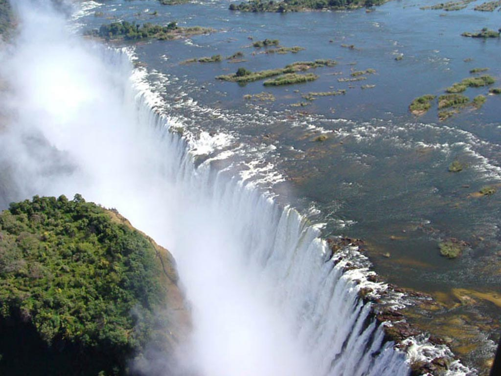 Пешком к Водопаду. Замбия