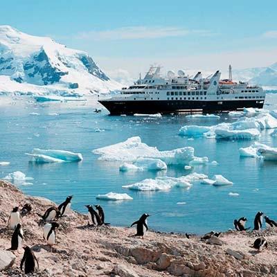 Встреча 2020 года в Антарктиде на яхте