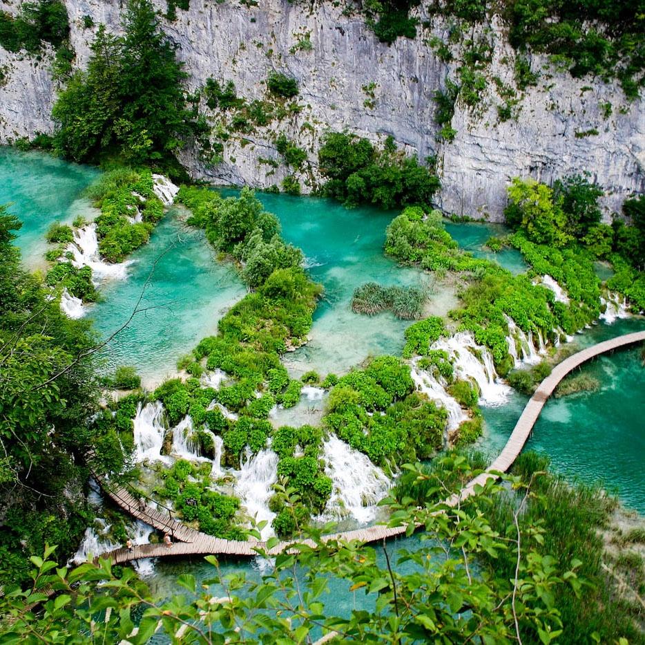 Озёра и замки Хорватии