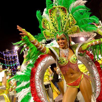 Карнавал на португальском острове Вечной весны